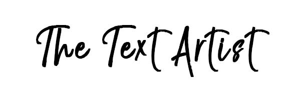 The Text Artist